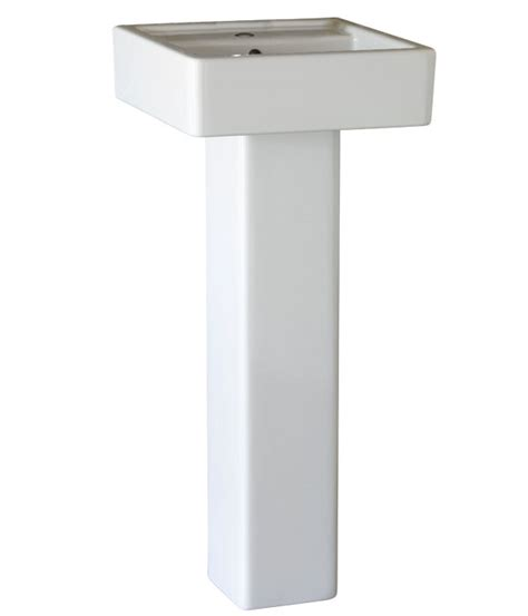 16 wide pedestal sink pedestal sink seagram 16 inch square pedestal lavatory