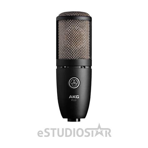 true capacitor microphone akg p220 high performance large diaphragm true condenser reverb