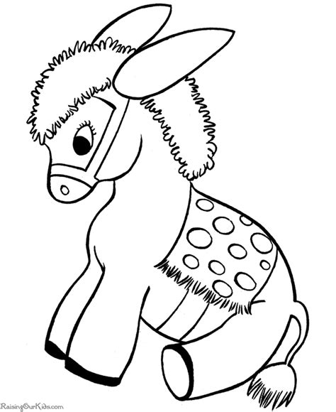 free christmas animals coloring pages