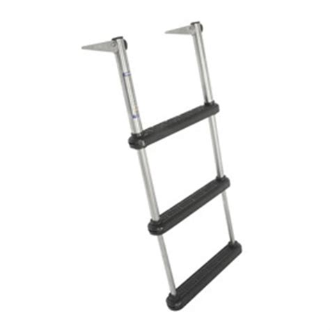 boat ladder telescoping northern 174 3 step telescoping ladder 142660 boat
