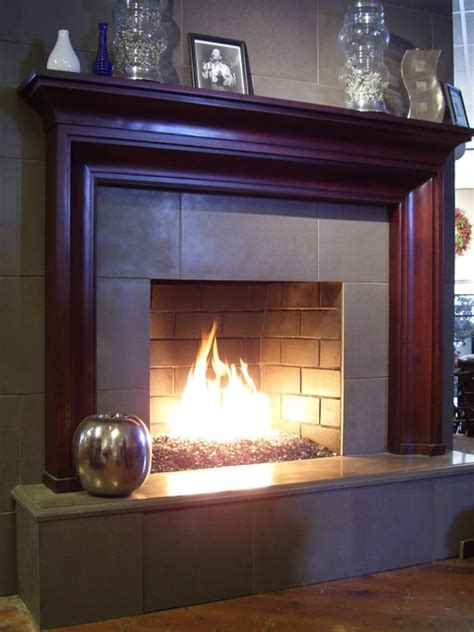 modern glass fireplace concrete glass fireplace modern living room other
