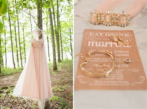 intimate backyard wedding maggie shahul s intimate lakeside backyard wedding in virginia capitol romance