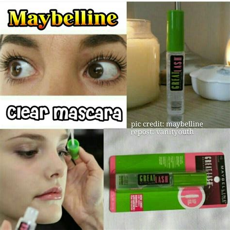 Maybelline Great Lash Clear Mascara maybelline great lash clear mascara 110 clear shopee singapore