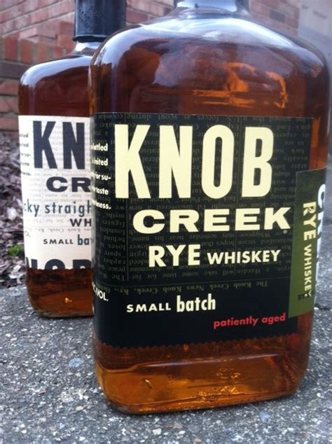 Knob Creek Rye Whiskey Review by Knob Creek Rye Review Bourbonblog