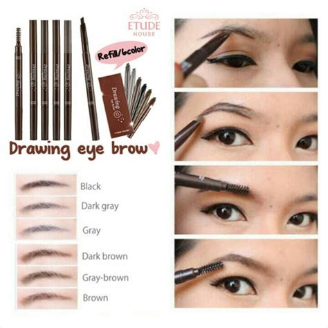 Pensil Alis Etude Drawing Eyebrow jual etude drawing eyebrow brush want
