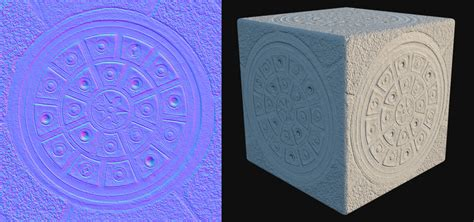 normal mapping normal vs displacement mapping why use normals