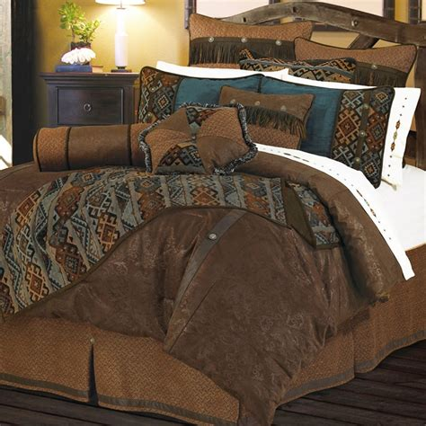 rustic bedding sets del rio comforter set hiend accents rustic bedding