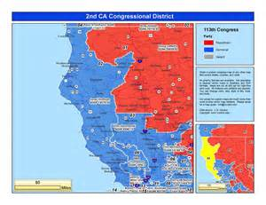 california 49th congressional district map california 2nd congressional district jared huffman