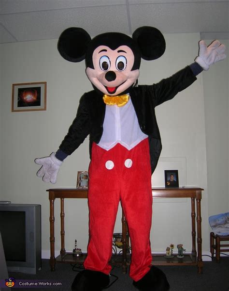 mickey mouse costume mickey mouse mascot costume for adults