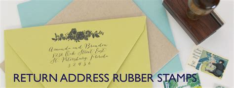 Wedding Announcement Return Address by Custom Return Address Sts