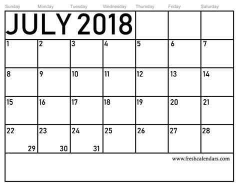 july  calendar printable template source template