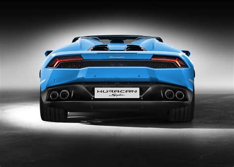 New Lamborghini Huracan LP 610 4 Spyder Arrives, Drops Top