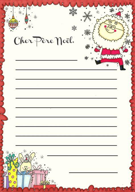 Exemple De Lettre Au Pere Noel La Lettre Au P 232 Re N 246 El 224 Imprimer Des P Riens