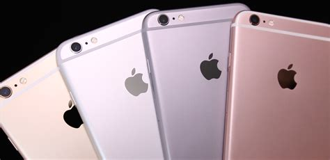 iphone 6s colors iphone 6s 6s plus color comparison dargadgetz