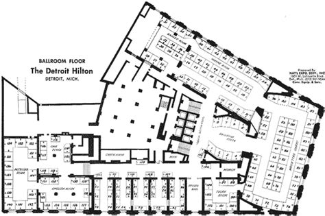 the statler hotel mezzanine floor plan the statler hotel ballroom floor plan