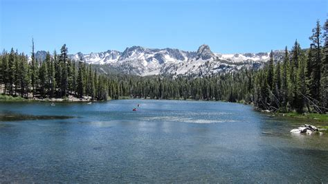 Lake Mamie Cabins by Lake Mamie Fishing Mammoth Lakes California 395 Guide