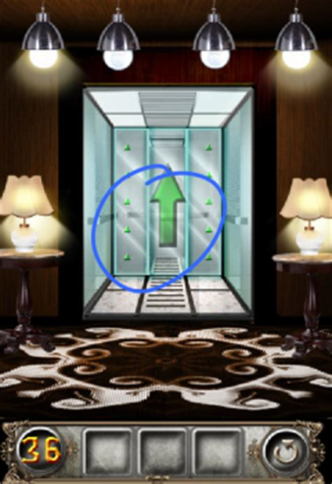 100 Doors Floor 36 by The Floor Escape Level 36 Walkthrough