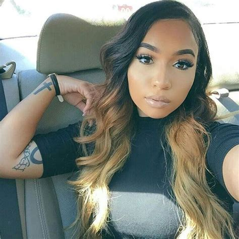 ombre weave hair styles that suit my face 35 stunning protective sew in extension hairstyles