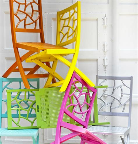colorful folding chairs entertain with society social cocktail carts simplified bee
