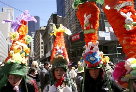 To The Easter Parade In New York by Easter In New York 2009 Slide 1 Ny Daily News