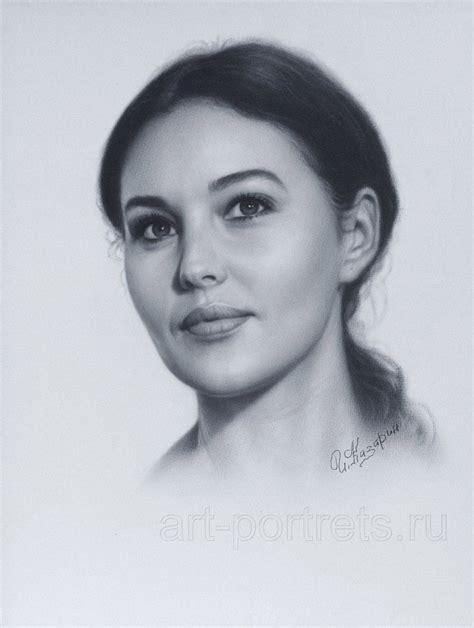 monica bellucci portrait portrait monica bellucci by drawing portraits deviantart