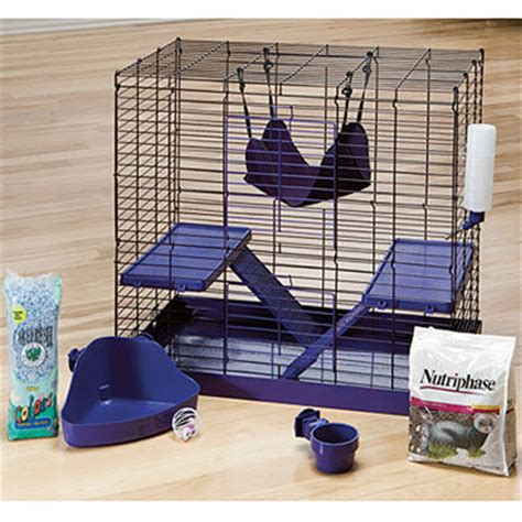 all living things luxury rat pet home all living things 24 small animal cage white by all