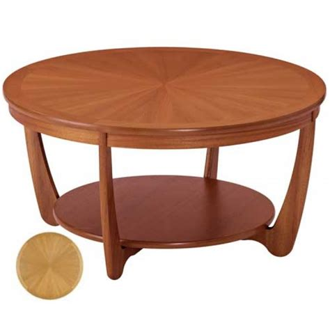Nathan Coffee Table Nathan Coffee Table Retro Light Teak Circular Glass Top Coffee Table Nest Of Tables By Nathan