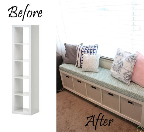 turn bookshelf into bench 20 creative diy furniture hacks that will make you think