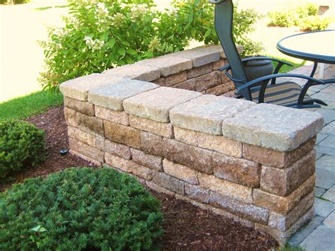 Hardscape Village Landscape Development Decorative Brick Walls Garden