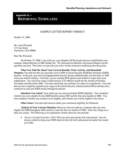 Report Letter Format Best Photos Of Report Format Sle Letter Report Format Exles Sle Technical Report