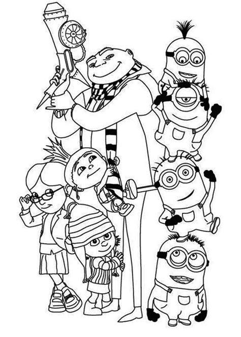 hard minion coloring pages 50 desenhos dos minions para colorir e imprimir gr 225 tis