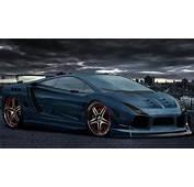 Cars Tuning Lamborghini Gallardo 3d Wallpaper