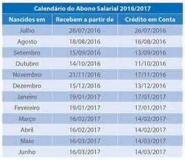 tabela do servidor federal para o ano de 2016 tabela do pis pasep 2016 2017 193 guas de mar 233 a