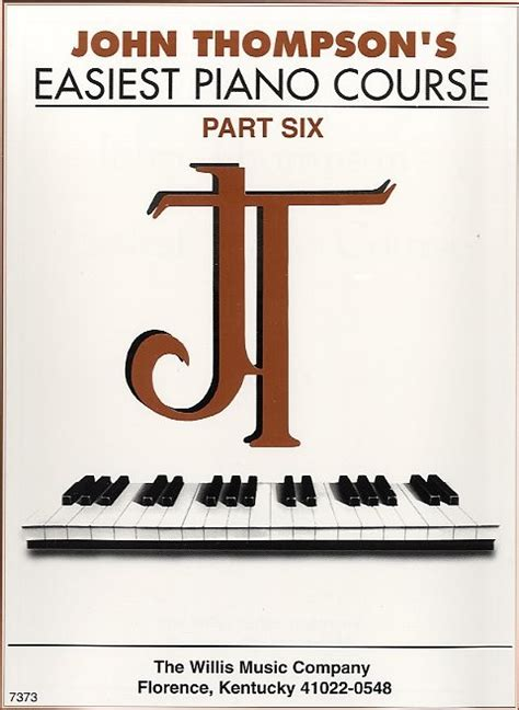 Thompson S Easiest Piano Course Part 7 thompson s easiest piano course part 6