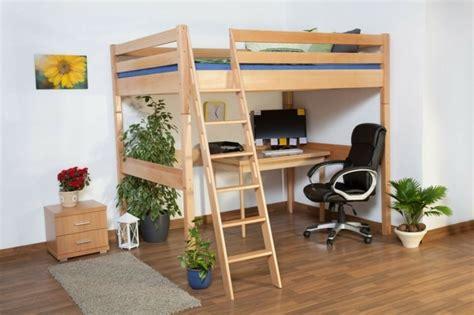 hochbett mit schreibtisch hochbett selber bauen mehr als 100 ideen und