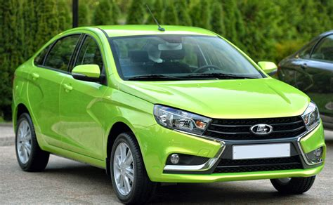 The Lada Lada Vesta