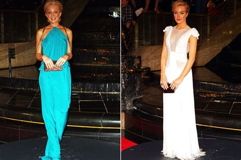 Carrie Bickmore Wardrobe by Logies Carpet 2011 Pictures Photos Logies Carpet 2011