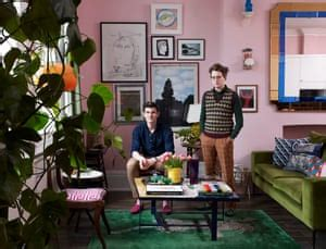 history boys   couples funky flat  bringing