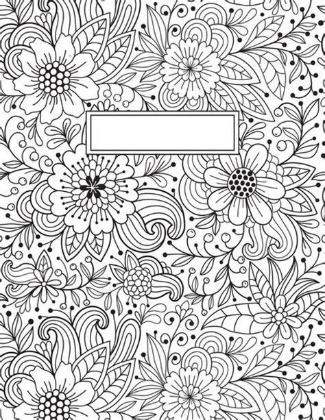 printable binder covers to colour обложки на тетрадь 4 фотографии diy pinterest