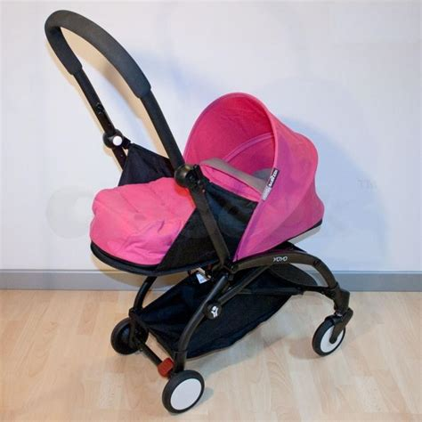 Babyzen Yoyo 0 Newborn Pack Pink babyzen yoyo lightweight baby stroller kowloon city