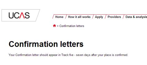 Ucas Offer Letters No Confirmation Letter On Ucas Unconditional Offer