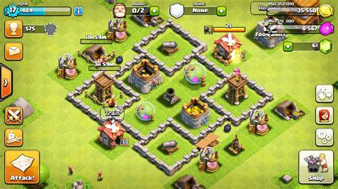 layout of coc town hall 4 layout www pixshark com images galleries
