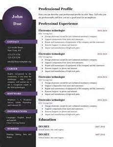 Curriculum Vitae New Format by Curriculum Vitae Resume Templates 386 To 391