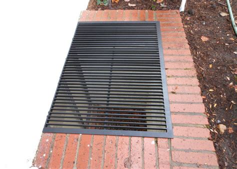 metal grate window well covers windowwellcovers1