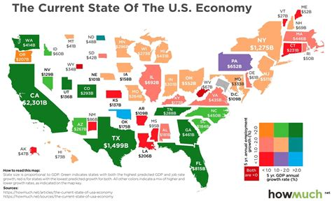 us states economy map map where the economic recovery in the u s has taken