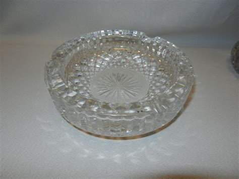 Antique Waterford Ls vintage waterford ashtray from mygrandmotherhadone
