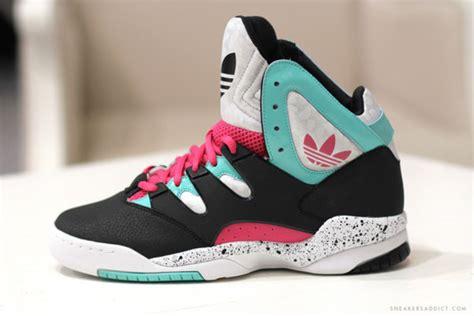 High Class Adidas shoes adidas high top mint pink wheretoget
