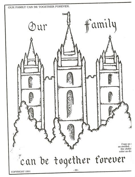 best photos of lds church coloring pages free lds temple