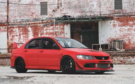 wallpapers mitsubishi lancer evolution  jdm