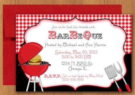 barbeque invitation templates psd word ai  premium templates